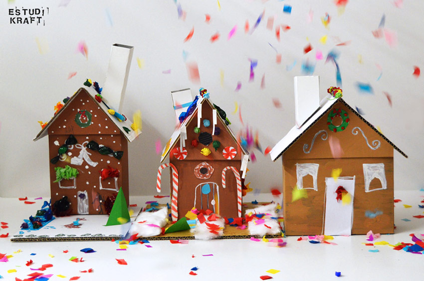 Estudi KRAFT gingerbread houses