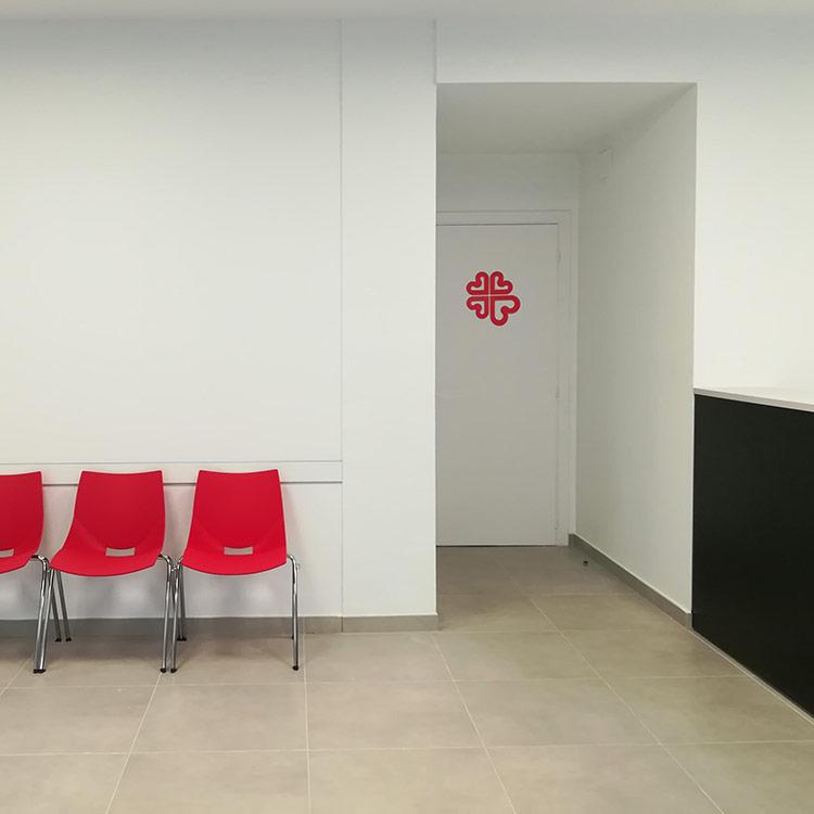 Reforma de les oficines de Càritas Arxiprestal
