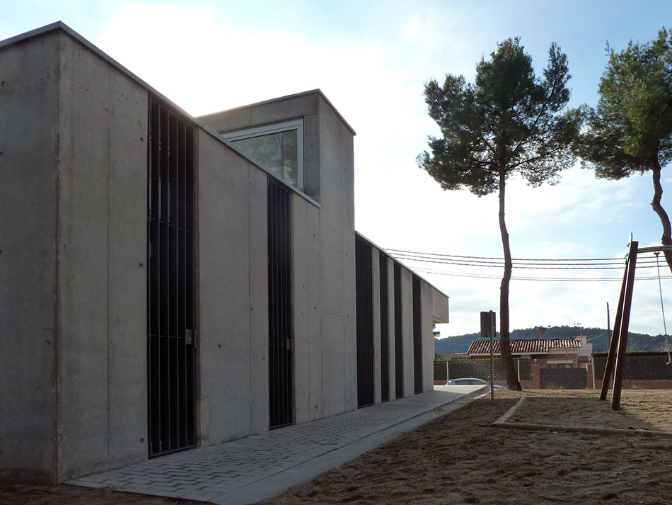 SP25 Arquitectura obra nova casal El Bruc