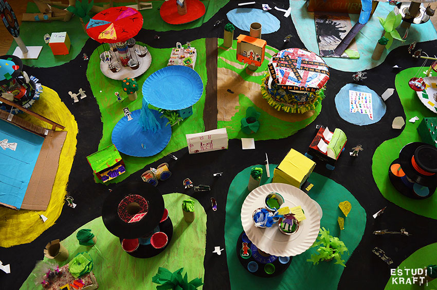 Estudi KRAFT parc d'atraccions