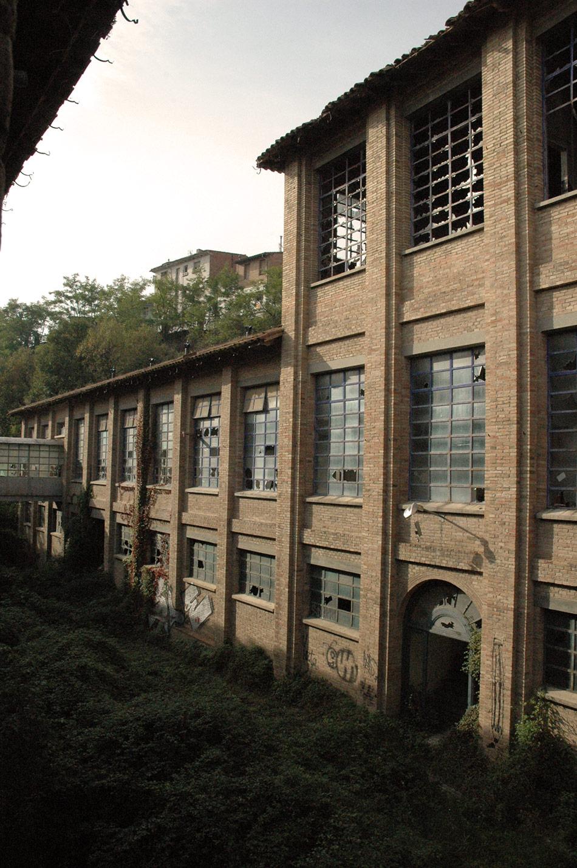 SP25 Arquitectura industrial aixecament de plànols la Blava