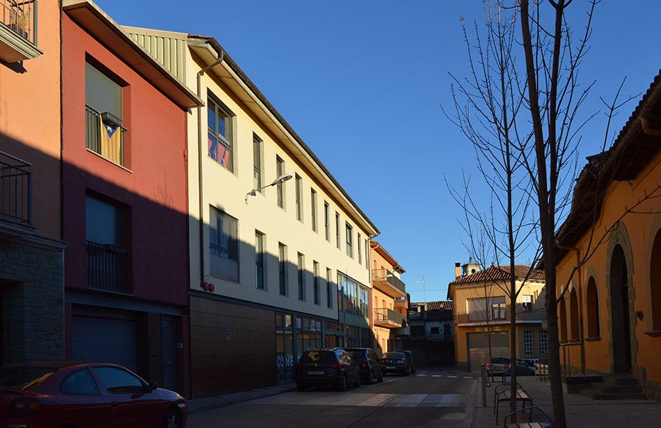 SP25 Arquitectura obra nova centre de serveis St Pere Torelló