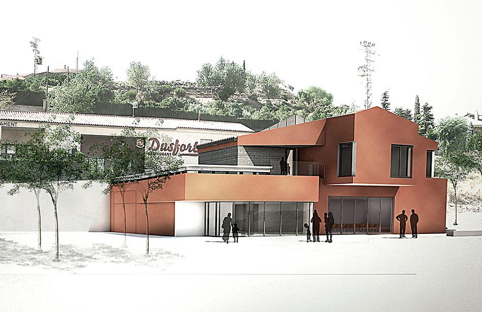 SP25 Arquitectura ajuntament calonge de segarra obra nova concurs