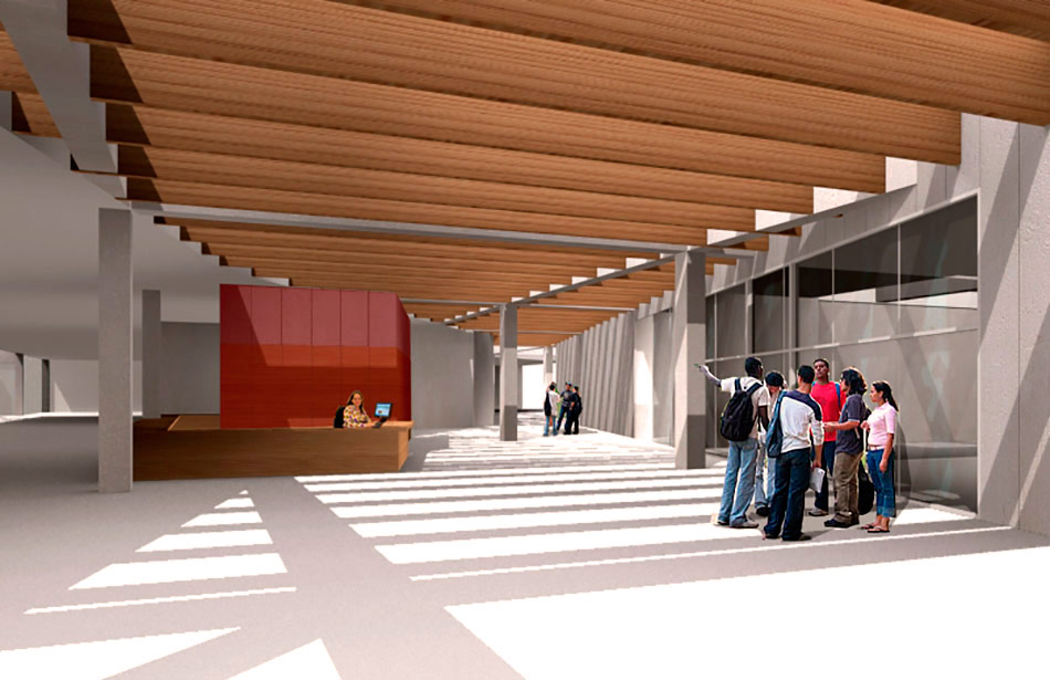 SP25 Arquitectura nova biblioteca Sitges