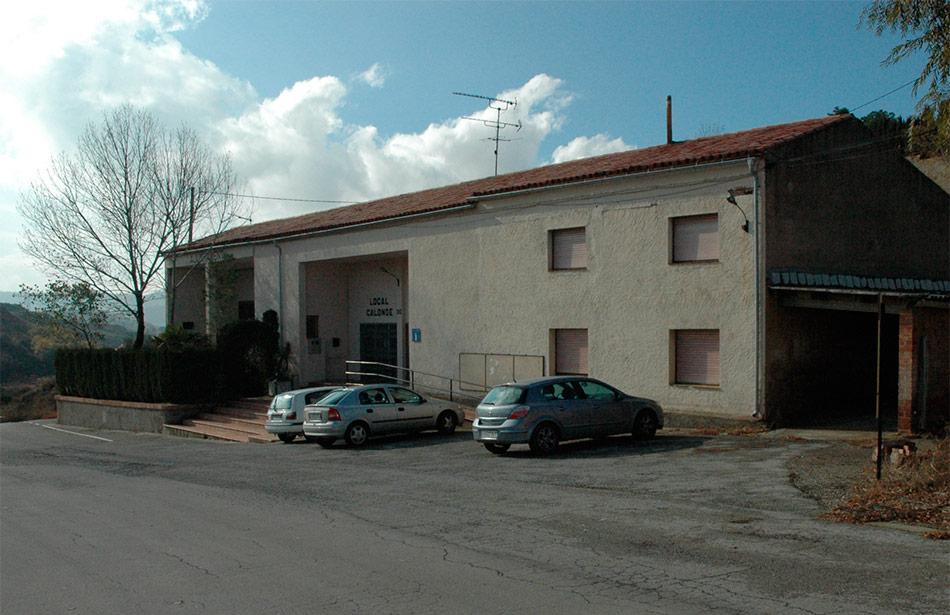 SP25 Arquitectura Estudi de Programació Casa Consistorial Calonge de Segarra