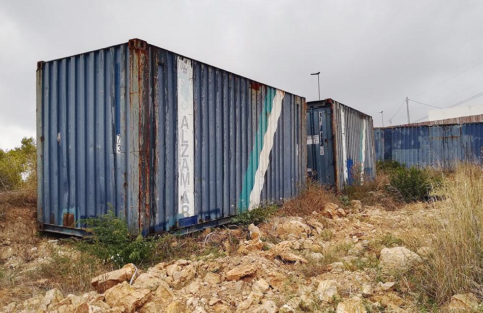 SP25 Arquitectura habitatge contenidors marítims Canyelles