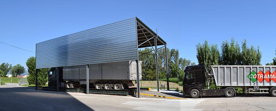 SP25 Arquitectura obra nova industrial coberta bàscula