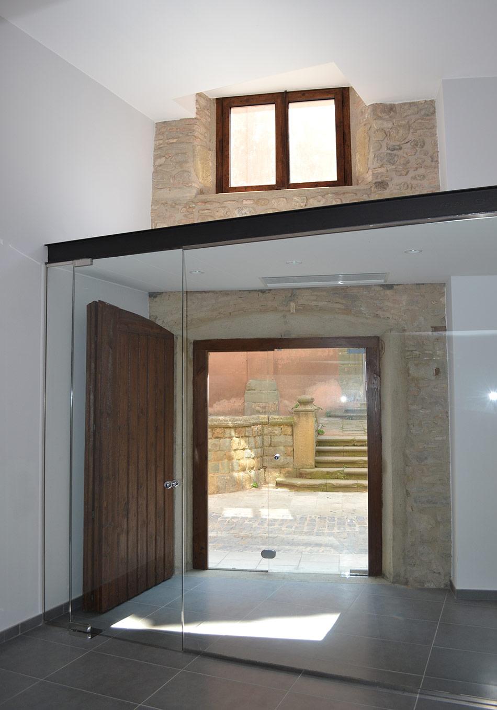 SP25 Arquitectura reforma i rehabilitació oficines Hospital de la Santa Creu Vic