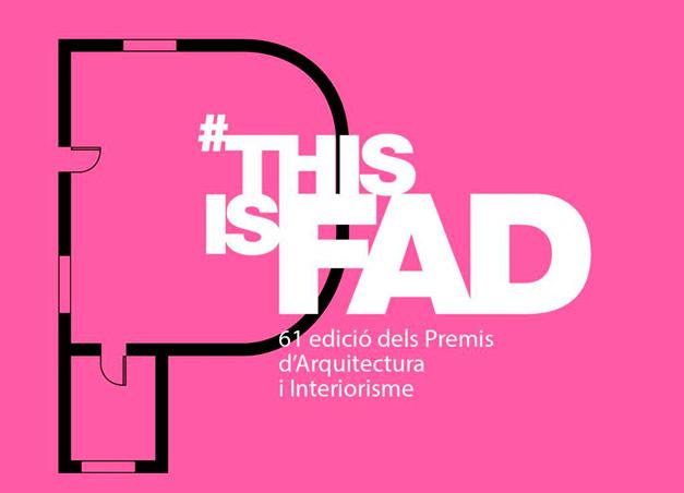 SP25 ARQUITECTURA Premis FAD 2019