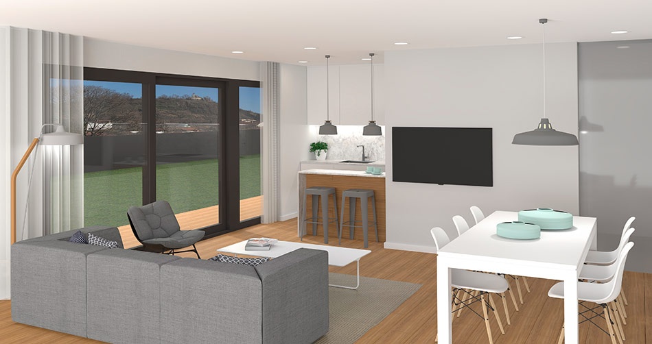 Conjunt residencial a Olot