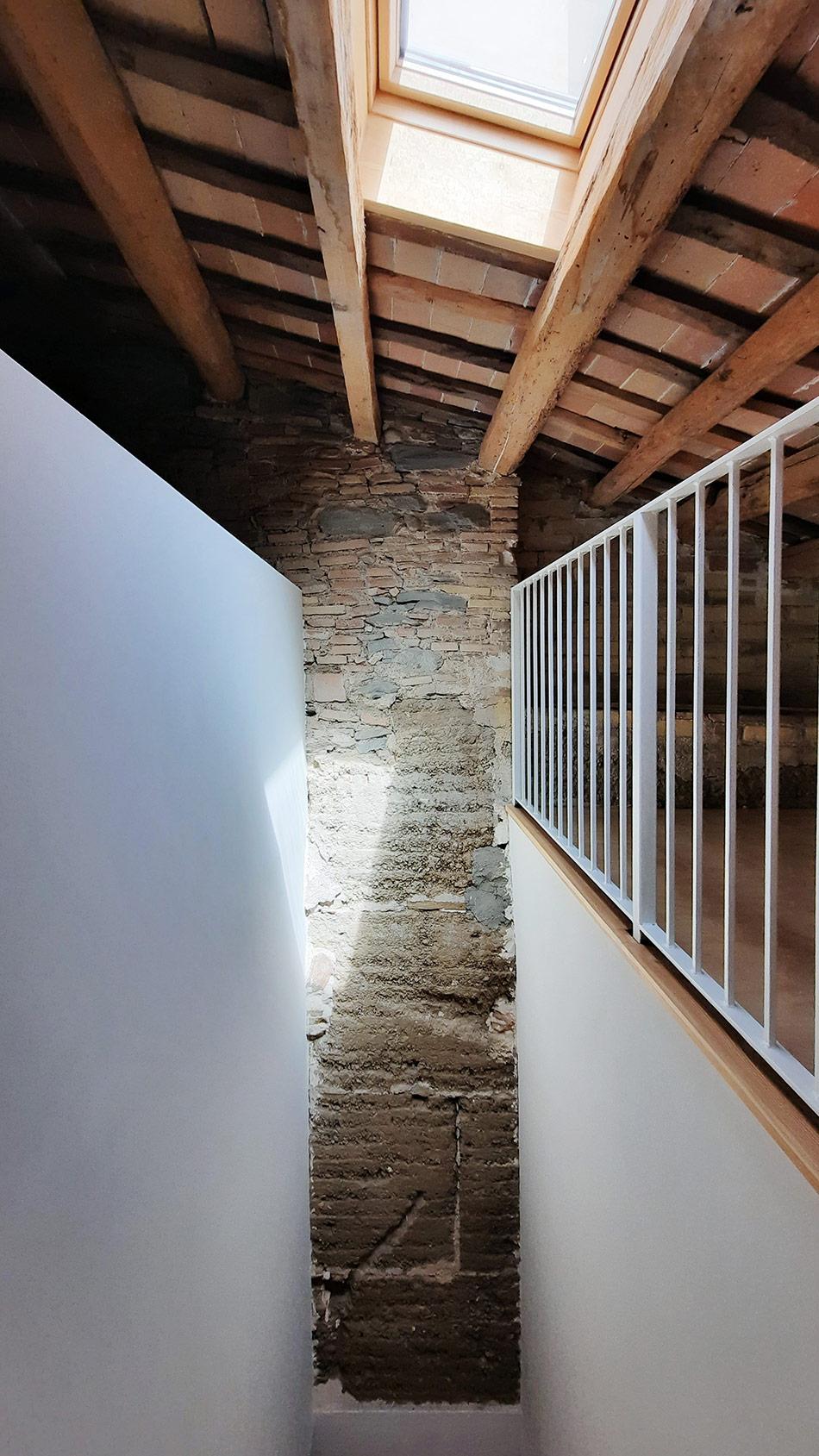 Reforma habitatge unifamiliar altell Vic SP25 Arquitectura