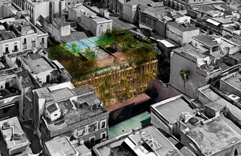 SP25 Arquitectura Escola Cervantes Barcelona