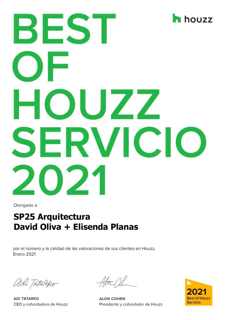 Diploma Best of HOUZZ 2021