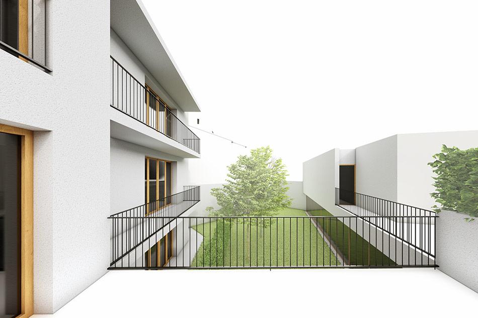 SP25 Arquitectura Edifici plurifamiliar d'habitatges a Vic